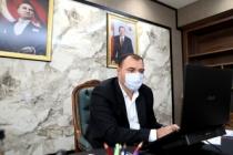 Vali Çetin Oktay Kaldırım Bugün de Çevrimiçi Toplantılara Başkanlık Etti
