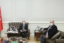 Cihan Saraç, Bakan Süleyman Soylu ile uzun görüştü