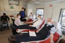 Kan Bağışı Can Bağışı Diyerek Bağışta Bulundular