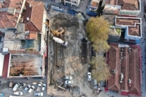 Unkapanı Meydanı'nın temeli atılıyor