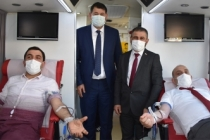 Başkan Kılıç'tan Kan bağış kampanyasına destek