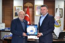Bayraktar'dan Başkan Özen'e Ziyaret