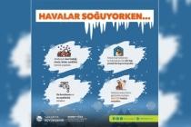 Büyükşehir'den kar yağışı ve buzlanmaya karşı uyarı