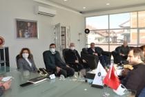CHP'den SASİAD ziyareti