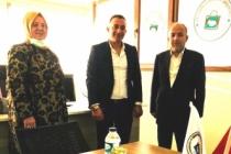 Gelecek'li yeni Başkan Sevindik'ten Demir'e ziyaret