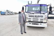 Karasu Belediyesi Araç Filosuna 2 Yılda 15. Aracı Ekledi