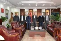 Muhtarlardan Başkan Özen'e Ziyaret