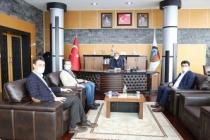 Rektör Sarıbıyık Başkan Alemdar'ı Ziyaret Etti