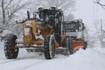 Serdivan'da Kar Mesaisi Devam Ediyor