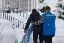 Yaşlıların ihtiyaçları Büyükşehir tarafından karşılanıyor