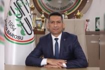 Baro Başkanı Burak'ın 12 Mart mesajı