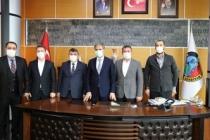 Başkan Alemdar Anadolu Medya Grubu'nu Ağırladı