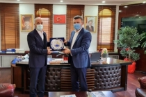 Başkan Ergün Atalay'dan, Başkan Özcan Özen' Ziyaret