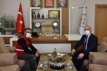 Başkan Fevzi Kılıç'tan Kızılay'ın Çalışmasına Destek