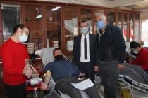 Başkan Gündoğdu Kan bağışı kampanyasına destek verdi