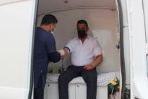Ferizli belediyesi personeli sağlık taramasından geçti