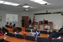 Sapanca Belediye Personeline Afet Bilinci Eğitimi