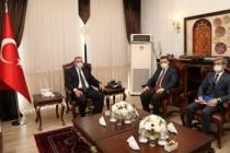 Başkan Sarı'dan, Vali Kaldırım'a Ziyaret