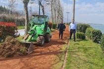 Sapanca'da Yürüyüş Yollarına Bahar Bakımı