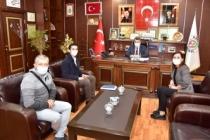 SEDAŞ Müdürü Yeğin'den Başkan Sarı'ya Ziyaret