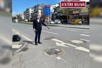 Serbes: Yollarda tehlike saçan rögar kapaklarına müdahale eden özel bir ekip kurulmalı