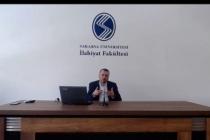"""İlahiyat Fakültesi'nde """"Klasik İslam Eğitim Kaynaklarında İlim, Âlim ve Müteallim"""" Konusu Konuşuldu"""
