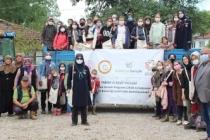 Taşkısığı Ortaokulu 'Tabiatta Keşif' projesinin misafiri oldu