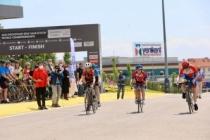 Heyecanlı pedallar Ayçiçeği Vadisi'nde kıyasıya yarıştı