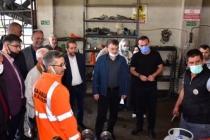 İshak Sarı Meclis Üyeleriyle Şantiye Alanında Bir Araya Geldi