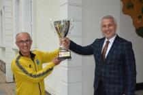 Namağlup Şampiyonlardan Başkan Babaoğlu'na Ziyaret