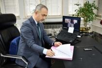 Sakarya Üniversitesi ve Kırgızistan Batken Devlet Üniversitesi arasında İş Birliği Protokolü İmzalandı