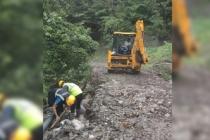 Büyükşehir Belediyesi afet bölgelerinde onarım çalışmalarını sürdürüyor