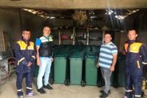 """""""Karasu'da Bireysel Çöp Kutusu Projesine İlgi Artarak Devam Ediyor"""""""