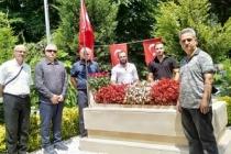 TYB Sakarya'dan 15 Temmuz Şehidi Serdar Gökbayrak'a Minnet Ziyareti