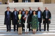 Sakarya Barosu'ndan Anıtkabir ve TBB ziyareti