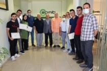 SAMATO'nun ilk mezunlarına sertifikaları verildi