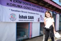 Başkan Sarı, Öğrencilerle Birlikte Hayvan Barınağını Ziyaret Etti