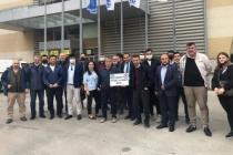 SATSO 7. Meslek Komitesi ISK-Sodex Tesisat Fuarına Katıldı