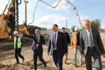 Vali Kaldırım Yeni Yapılan Hastanelerdeki Çalışmaların Hızlandırılması Talimatı Verdi