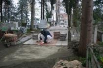 Mezarlık Çamur Deryasından Kurtuluyor