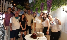 Minori'de Sürpriz Doğum Günü Kutlaması