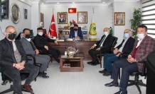 Çayeli belediye başkanı ismail hakkı çiçtçi başkan gündoğdu'yu ziyaret etti