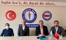 Serbes: Sağlık çalışanlarımız eşitlik ve adalet istiyor
