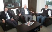 Başkan İspiroğlu'undan Evren Tv'ye  Ziyaret