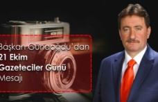 Başkan Gündoğdu'dan Dünya Gazeteciler Günü mesajı