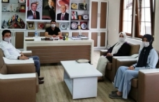 MKYK Üyesinden Pilavcı'ya Ziyaret