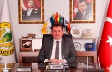 """Başkan Gündoğdu'dan """"29 Ekim Cumhuriyet Bayramı"""" mesajı"""