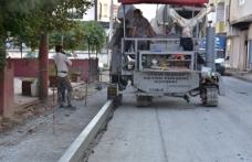 Karasu Belediyesinden Yeni Tip Beton Bordür Uygulama Sistemi
