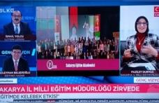"""Durmuş, Eğitimde """"Kelebek Etkisi""""ni Tüm Türkiye'ye Anlattı"""