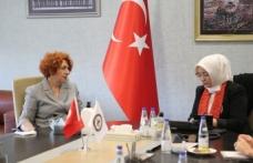 Kadın Girişimciler Kurulu İcra Komitesi Sakarya Milletvekili Atabek'i Ağırladı